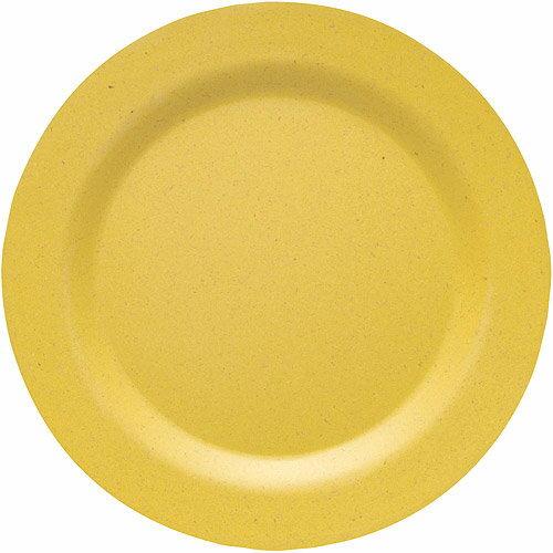 《NOW》Ecologie竹纖維餐盤(暖黃20cm)