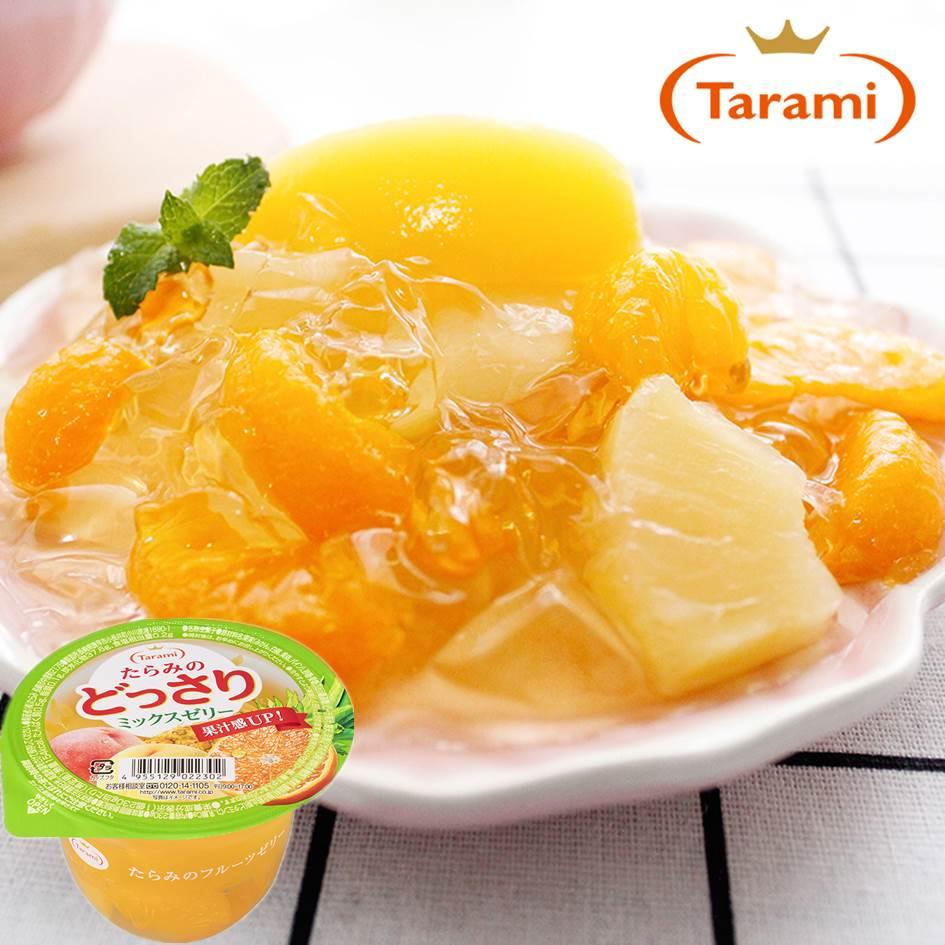 【Tarami達樂美】杯子果凍-綜合水果 230g 果汁感UP 日本進口 3.18-4 / 7店休 暫停出貨 0