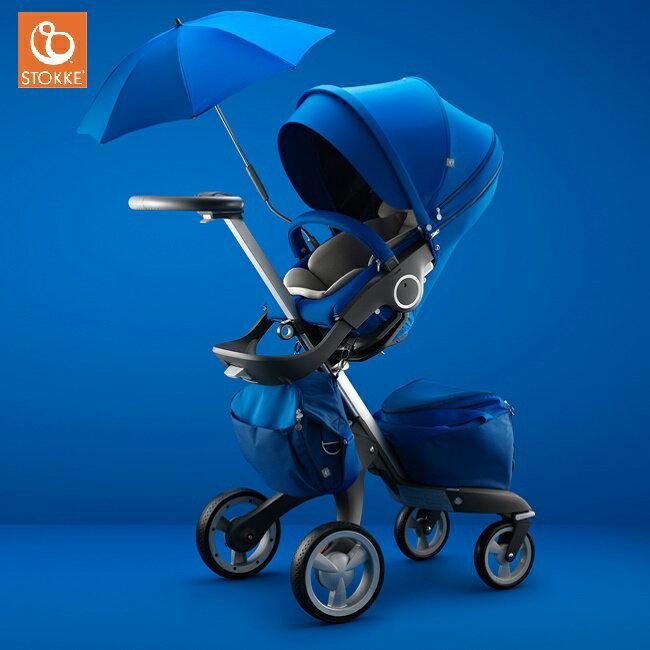 【限量下殺67折】【全台限量】挪威【Stokke】Xplory 經典嬰兒車- 寶石藍