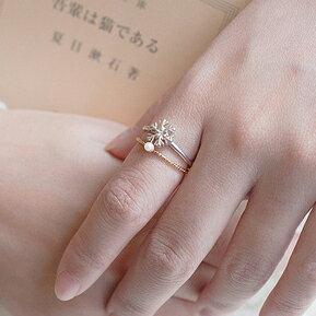 【秘密飾品】「淑女的舉止」輕珠寶戒指 (兩款) (現+預)