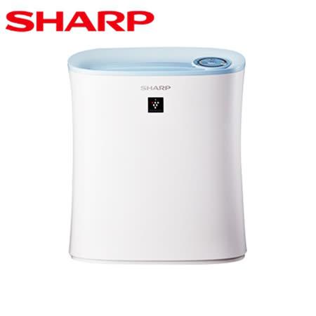 【SHARP夏普】6坪除菌離子空氣清淨機FU-H30T-W【迪特軍】