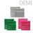 日本DEMI 提美 UEVO卵殼膜彩色造型灰積木髮蠟80g 多款可選 1