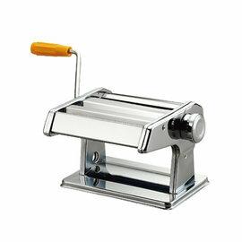 《派樂》義大利式7段厚度可調壓麵製麵機TM-01W-台灣製造寬麵細麵水餃皮餛飩皮