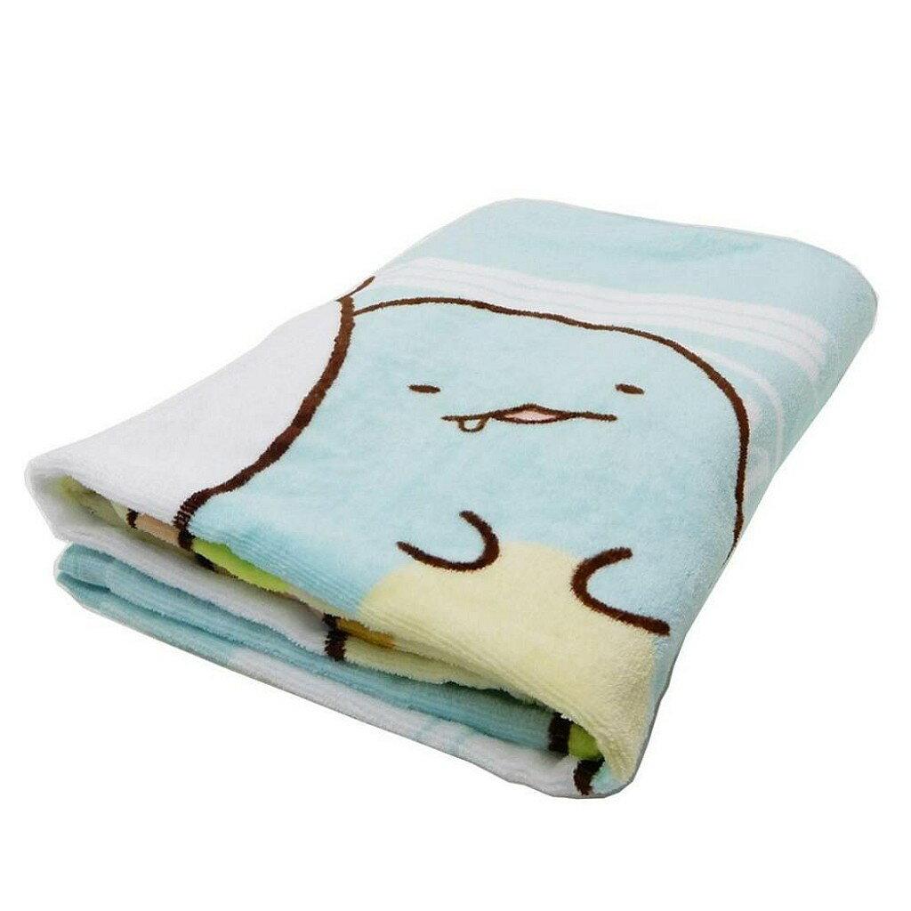 【積文館】浴巾 日本進口 角落小生物 角落公仔 輕薄(140*70cm) 1