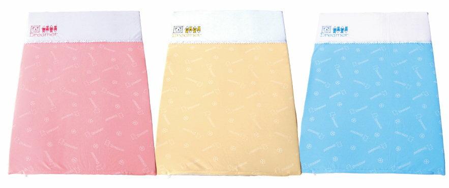 Mam Bab夢貝比 - 好夢熊乳膠遊戲床專用墊 -單布套 (粉、黃、藍) 3