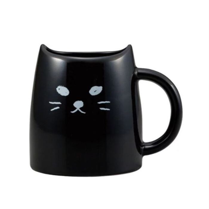 【日本 sunart】馬克杯 - 黑貓