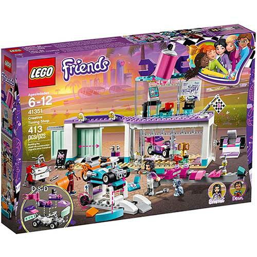 樂高LEGO 41351 Friends 姊妹淘系列 - 創意賽車改裝店 - 限時優惠好康折扣