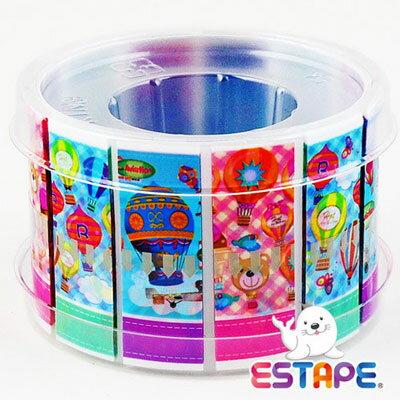 王佳膠帶 ESTAPE 易撕貼OPP抽取式膠帶RHS3017熱氣球版組合 / 組