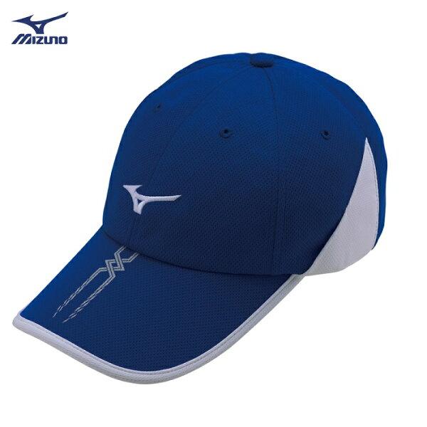【登瑞體育】MIZUNO男款運動路跑帽_J2TW800014
