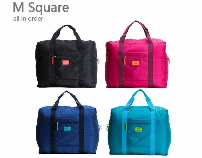 M Square 摺疊 袋^(四色^)