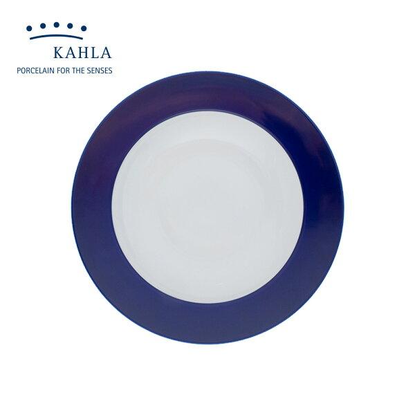 德國KAHLA藍調之美(夜藍NightBlue)-23CM盤