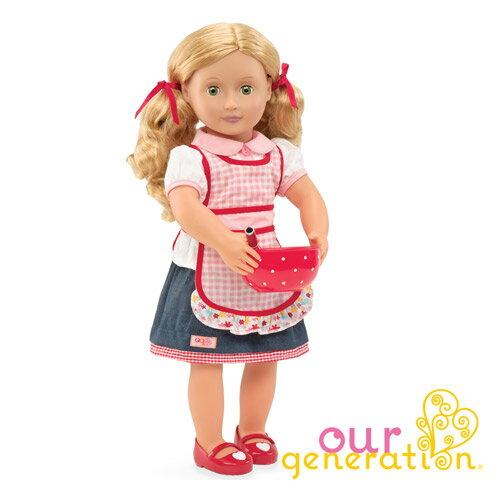 【奇買親子購物網】ourgeneration18英吋豪華組娃娃-(珍妮Jenny)