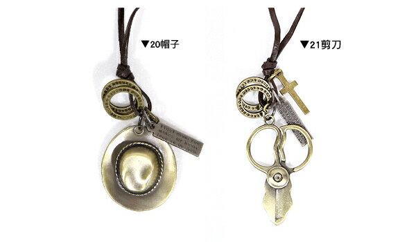 ☆BOY-2☆【NQH001】韓風復古時尚造型項鍊 5