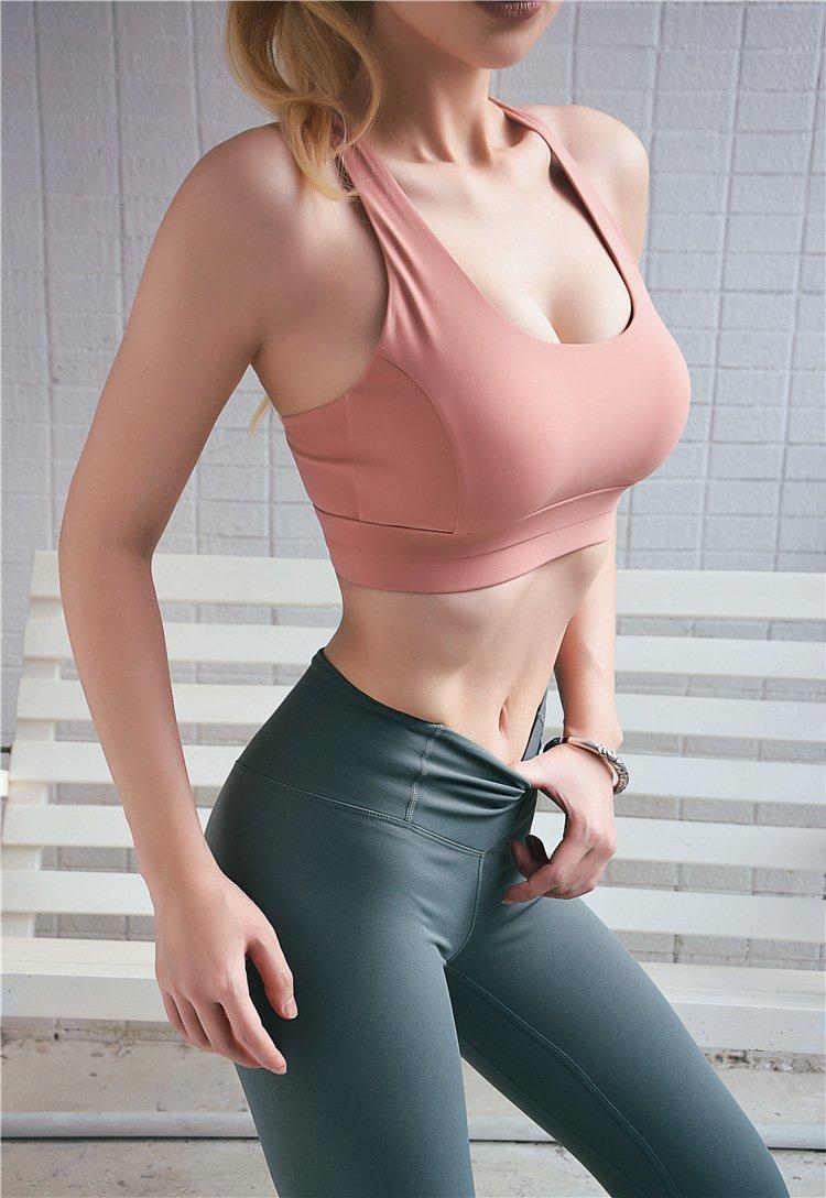中度支撐可調節美背運動內衣 0