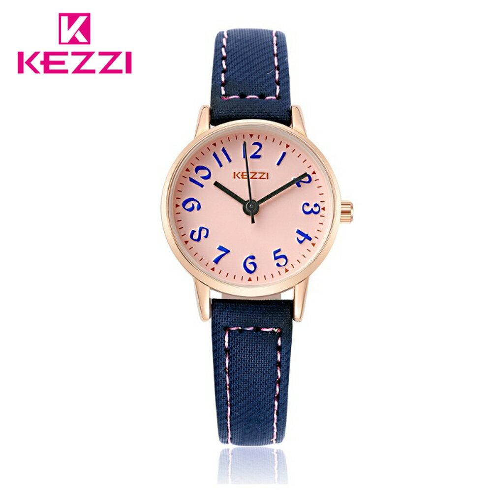 KEZZI 珂紫 K-1564 IP 時尚學院風多色搭配款手錶 1