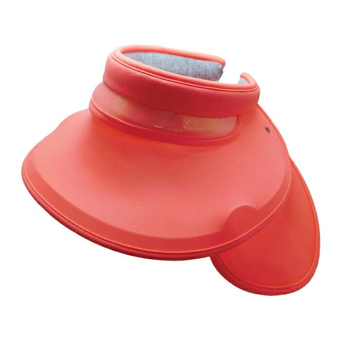 SUNSOUL/HOII/后益-全面防護遮陽帽 UPF50+ 紅光