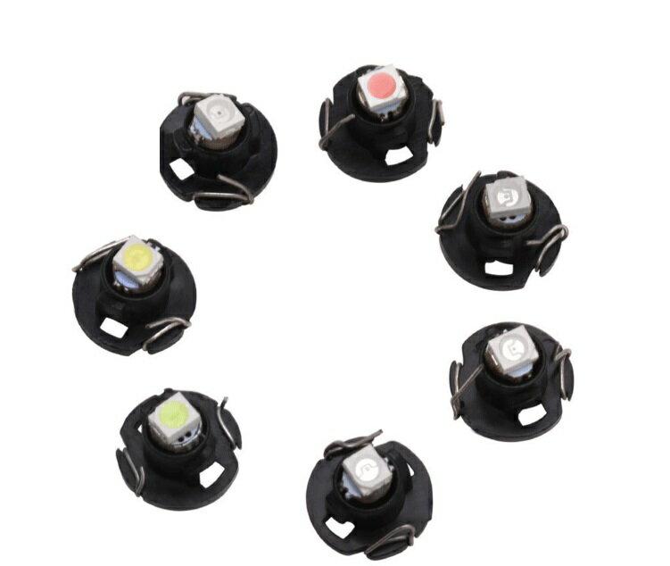 高亮5050 SMD汽車LED儀表燈 T3/T4.2/T4.7 LED儀表燈 空調燈 時鐘燈
