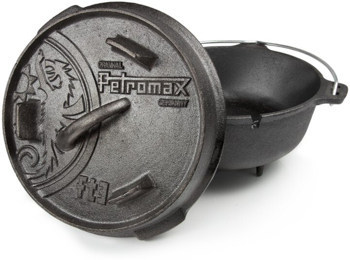 Petromax 鑄鐵鍋/荷蘭鍋/露營用品/8吋有腳 FT3 台北山水