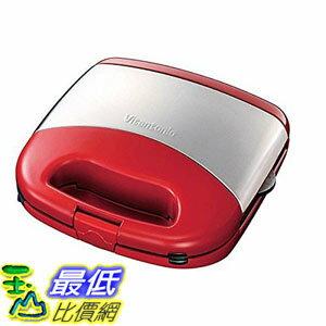 [107東京直購現貨]VitantonioVWH-30-R鬆餅機紅附二烤盤