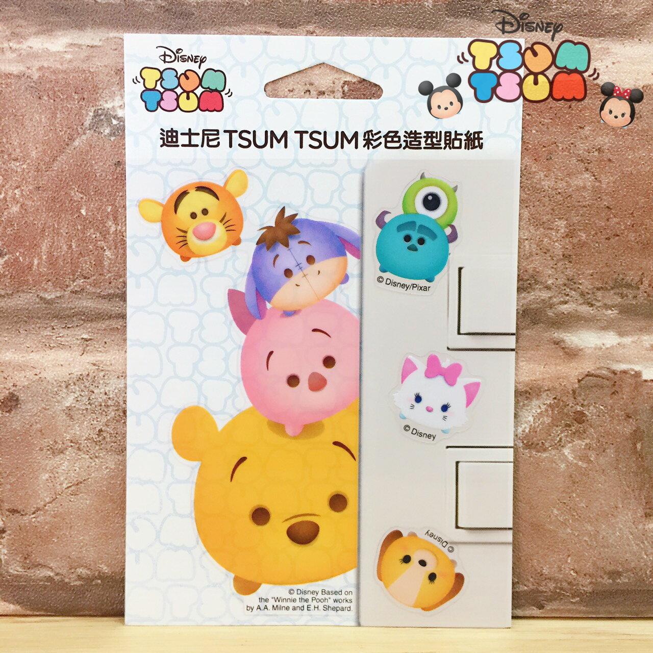 【唯愛日本】17062300008 迪士尼開關貼-TSUM維尼 迪士尼 小豬屹耳驢子跳跳虎 裝飾貼紙 居家生活