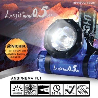Luxsit mimi 0.5w LED 頭燈~AH10006~i~Style居家