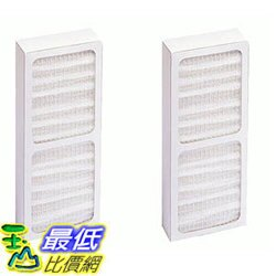 [106美國直購] 2 Hunter 30917 Air Purifier Filters Fit Model 30027 & 30028, Designed & Engineered by Crucial Air