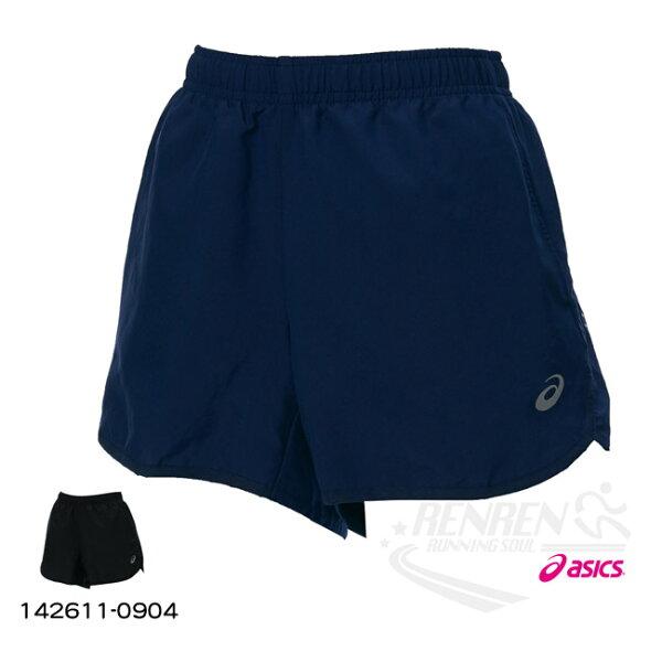 ASICS亞瑟士女慢跑短褲(丈青)MOTIONDRY機能布料142611-8052【胖媛的店】