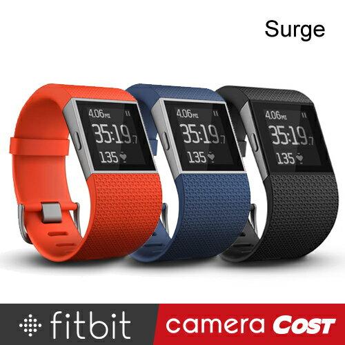 ★台灣群光公司貨★ Fitbit Surge 智能樂活全能運動手錶 GPS 心率 步數 睡眠 穿戴裝置 音樂控制 簡訊 來電 鬧鐘 提醒