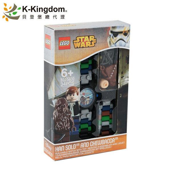 【LEGO 樂高手錶】星際大戰 韓·索羅 與 丘巴卡 8020400
