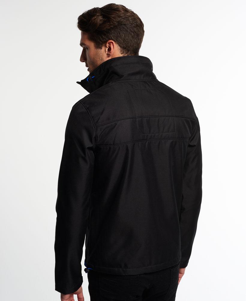 英國名品 代購 極度乾燥 Superdry Windtrekker 男士風衣戶外休閒外套 防水 黑色/寶藍色 2