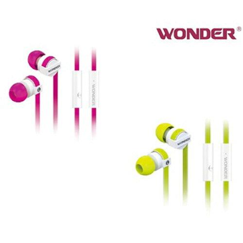 WONDER立體聲入耳式(防拉扯)耳機WA-E08M【愛買】