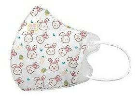 興安立體防塵口罩50入-兒童兔兔 #兒童口罩