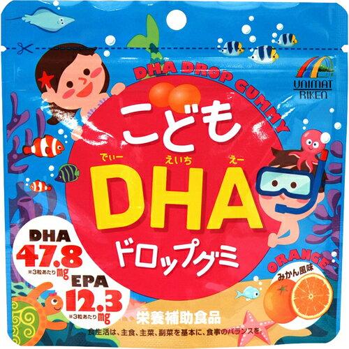 日本兒童DHA維他命軟糖橘子口味440927代購