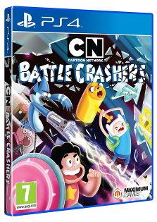 2097 電玩玩具公仔舖:PS4卡通頻道大亂鬥-英文版-CartonNetworkBattleCrashers戰鬥破壞者
