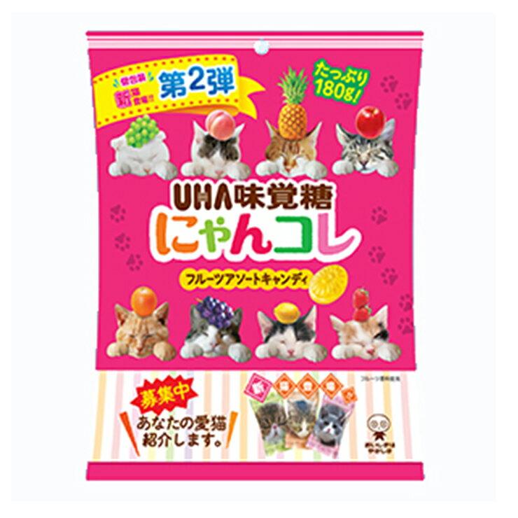 【HUA味覚糖】貓咪包裝水果糖(100g)