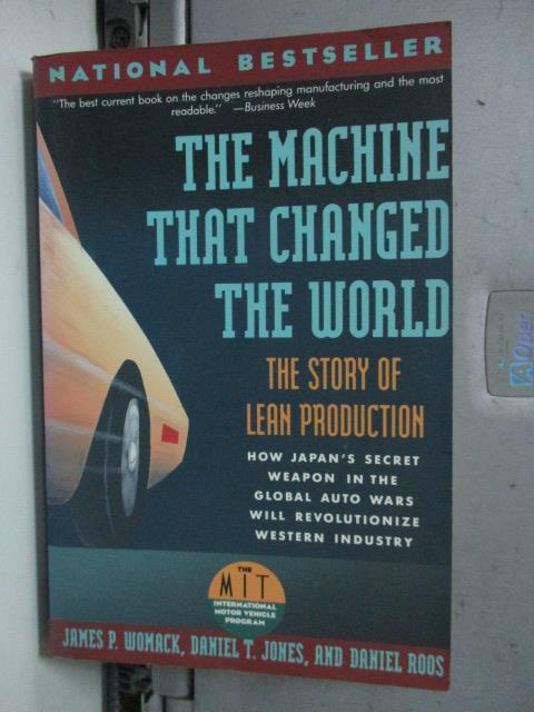【書寶二手書T1/原文書_LCE】The Machine That Changed the World_Womack