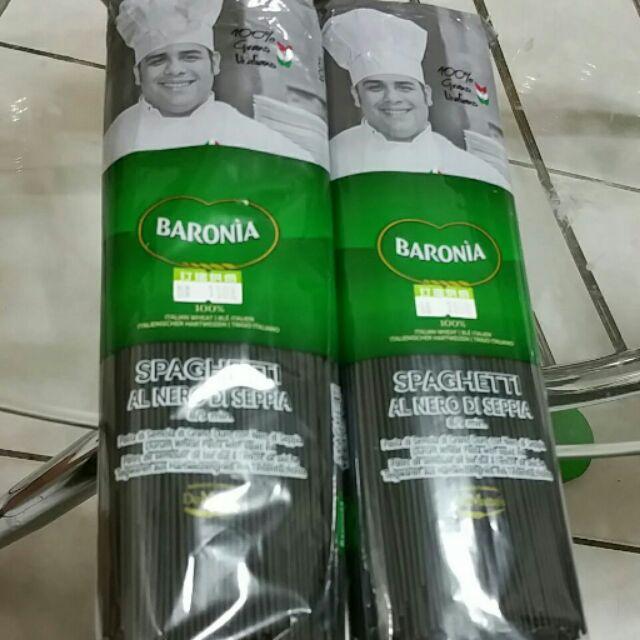 Baronia 義大利墨魚麵 500g