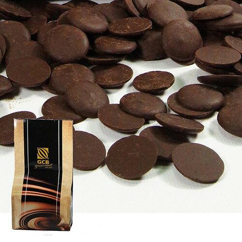 苗源烘焙原物料:【GCB】深黑苦甜鈕扣巧克力5KG分裝(麵包西點烘焙專用)250G