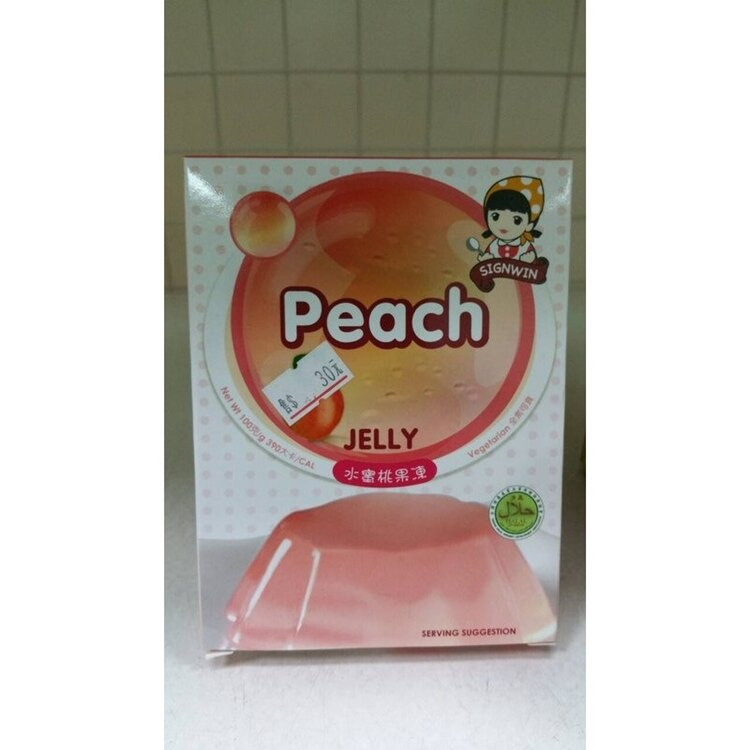 三瀛 Peach 水蜜桃果凍 100g/盒