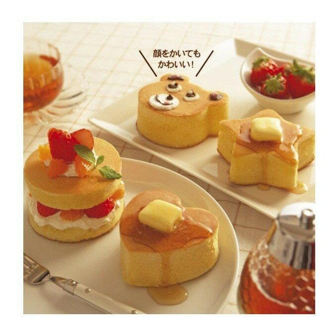 日本CakeLand 麵包蛋糕不銹鋼深型煎烤模(圓型/心型/星型/小熊)四種樣式可選~煎蛋、漢堡肉、慕斯蛋糕‧日本製