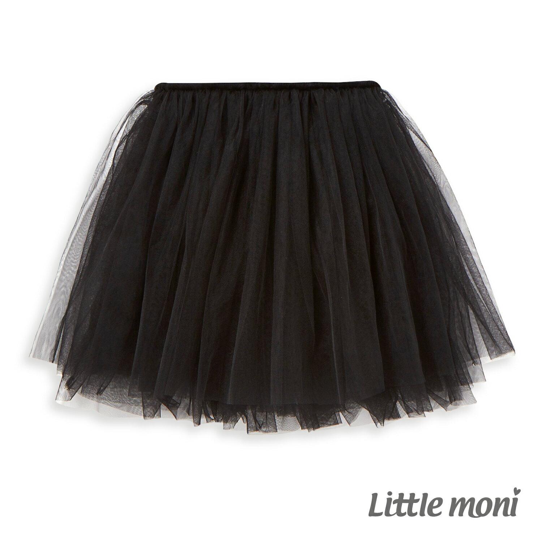 Little moni 浪漫女孩紗裙-黑色 1