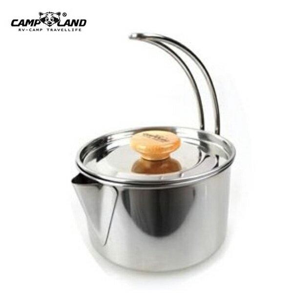 【露營趣】中和安坑 CAMP LAND RV-ST250 不鏽鋼燒水壺 茶壺 開水壺 燒水壺 湯鍋 咖啡壺 非coleman 鹿牌 logos