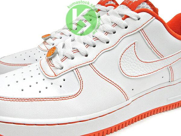 2020 經典復刻鞋款 NIKE AIR FORCE 1 07 LV8 EMB RUCKER PARK 白橘 洛克公園 籃球 AF1 (CT2585-100) 0820 2