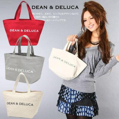 手提包日系DEAN&DELUCA帆布手提袋環保購物袋