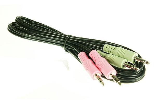 AviewS-音源線3.5mm*2/公對公頭 - 限時優惠好康折扣