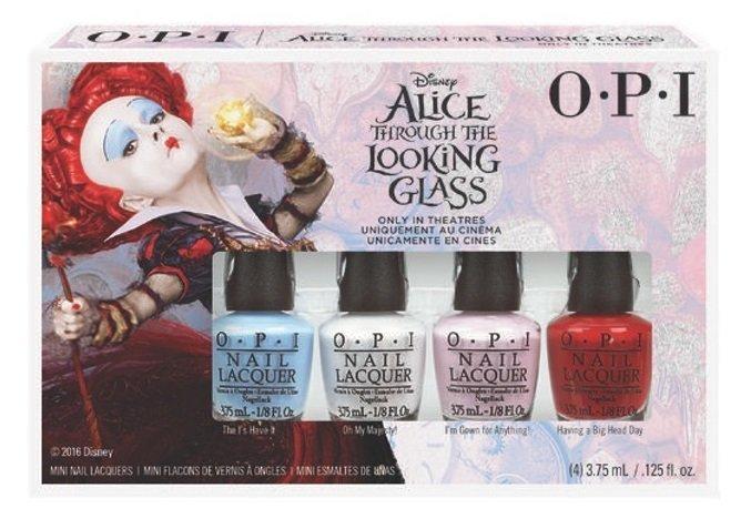【彤彤小舖】OPI Alice 愛麗絲魔境夢遊系列 魔境夢遊迷你組 4瓶裝 2016春夏款 2016年02製造