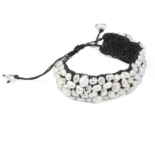 Handmade Genuine Stone Hemp Stone Bracelet 1