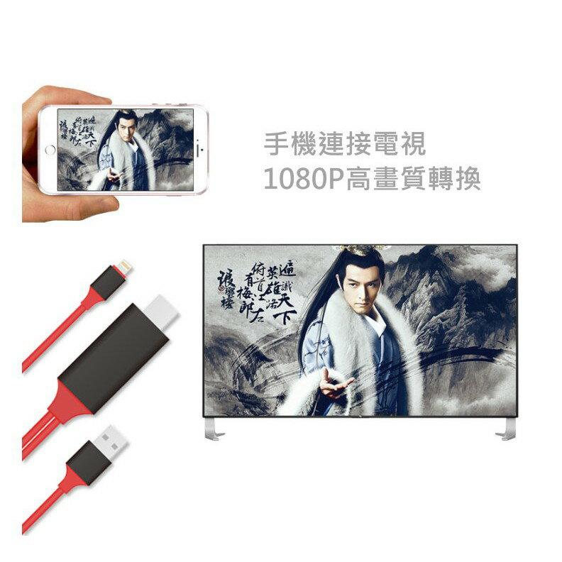 正版 安卓 typec iphone 轉HDMI線 蘋果 hdmi  hdmi轉接器 手機投影電視【HY48】