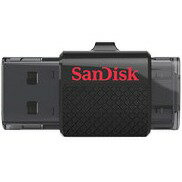 SanDisk 16GB USB 3.0 to microUSB 16G OTG Ultra Dual Flash Drive 130MB/s for Android smartphone tablet SDDD2-016G 2