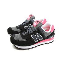 New Balance 美國慢跑鞋/跑步鞋推薦NEW BALANCE 574系列 休閒鞋 女鞋 黑色 no110 楦頭(窄)